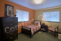 Retirement Home Electric Bedroom Heater - Almond