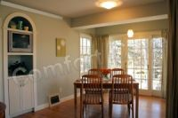 Dining Room Radiant Electric Cove Heater - Off White